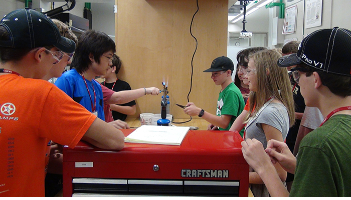 Rube Goldberg: Developing engineering talents